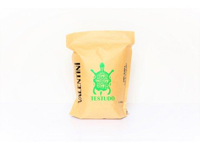 Káva Valentini - Testudo 950g, 100% Arabica, zrnková