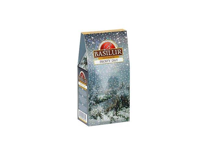 Basilur Frosty day - černý čaj ochucený kousky ovoce (mango, brusinka), sypaný, 100g