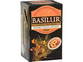 Basilur rooibos peach and apricot