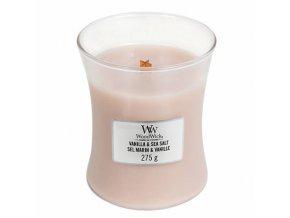 vanilka a mořská sůl váza 275g