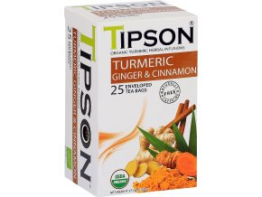 Tipson BIO turmeric, ginger, cinnamon