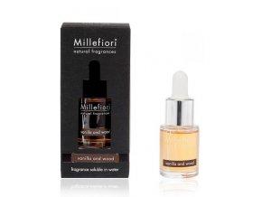 MILLEFIORI Natural Aroma olej 15ml Vanilla & Wood