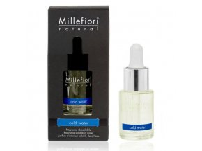 MILLEFIORI Natural Aroma olej 15ml Cold Water