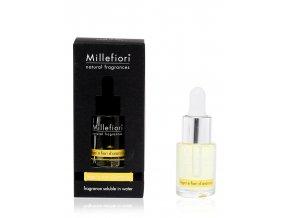MILLEFIORI Natural Aroma olej 15ml Legni e Fiori d'Arancio