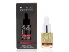 MILLEFIORI Natural Aroma olej 15mlGrape Cassis