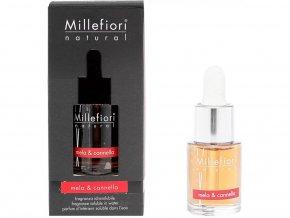 MILLEFIORI Natural Aroma olej 15ml Mela & Cannella