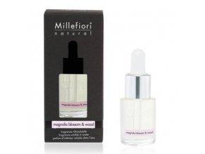 MILLEFIORI Natural Aroma olej 15ml Magnolia Blossom & Wood