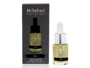 MILLEFIORI Natural Aroma olej 15ml Nero