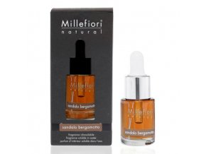 MILLEFIORI Natural Aroma olej 15ml Sandalo Bergamotto
