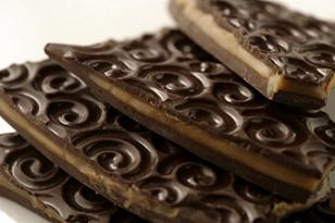 Slaný karamel v hořké čokoládě