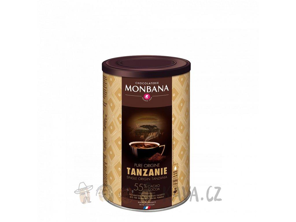 Monbana Horká čokoláda Tanzanie 55% 500 g