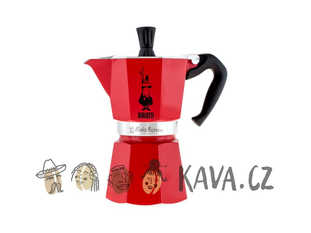 bialetti moka express red
