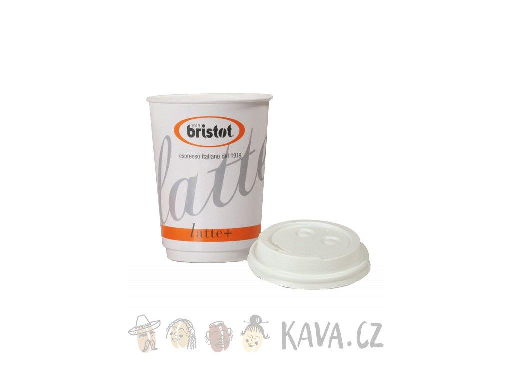 Bristot latte paper cups