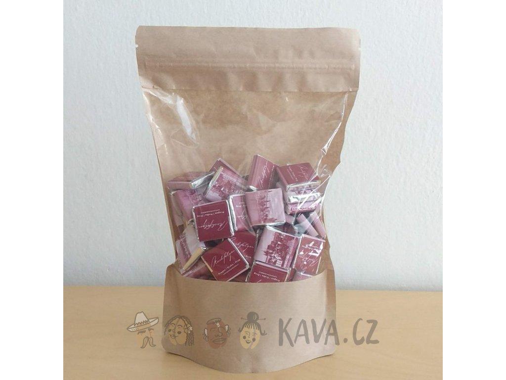 Pražská čokoláda Hořké čokoládky ke kávě 100 ks