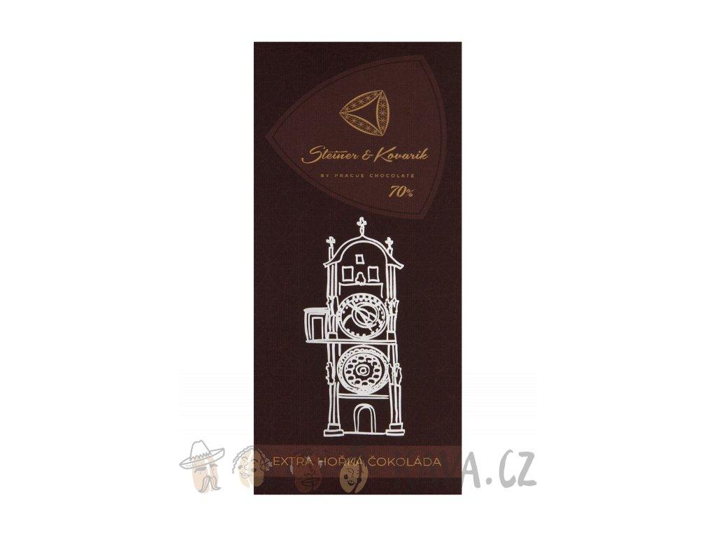 Pražská čokoláda Extra hořká čokoláda