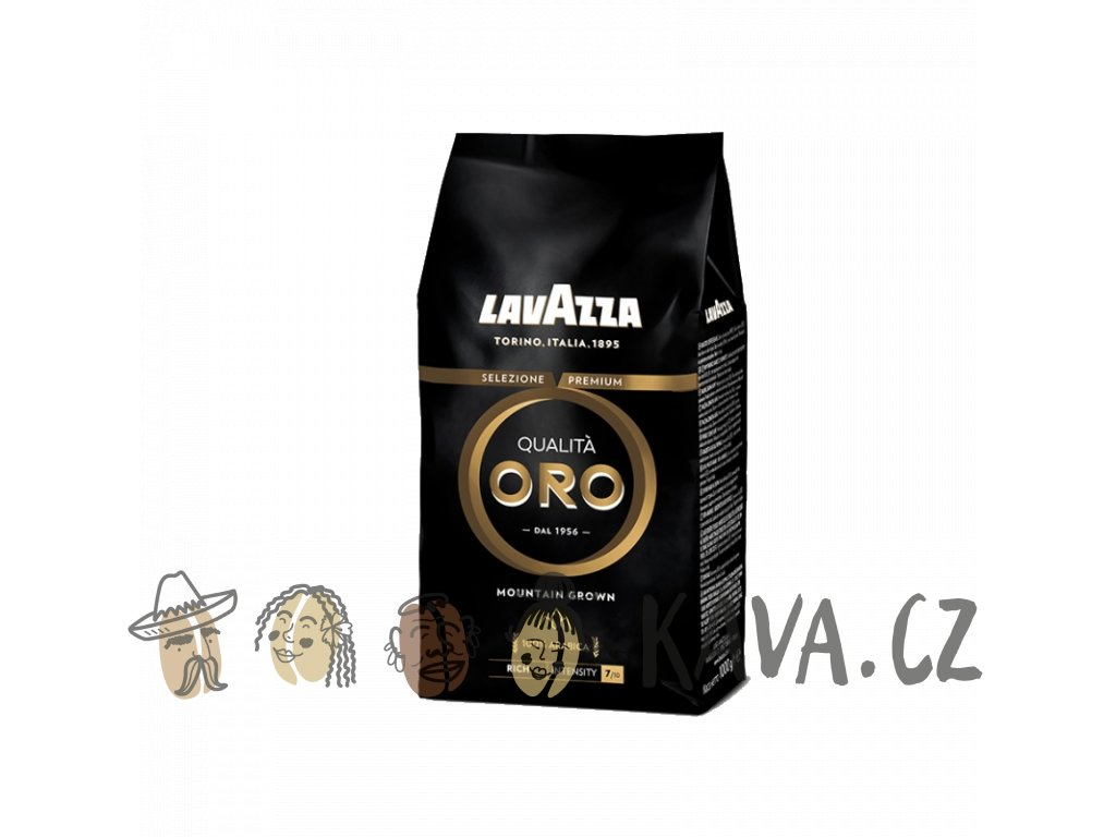 lavazza qualita oro mountain grown zrnkova 1kg