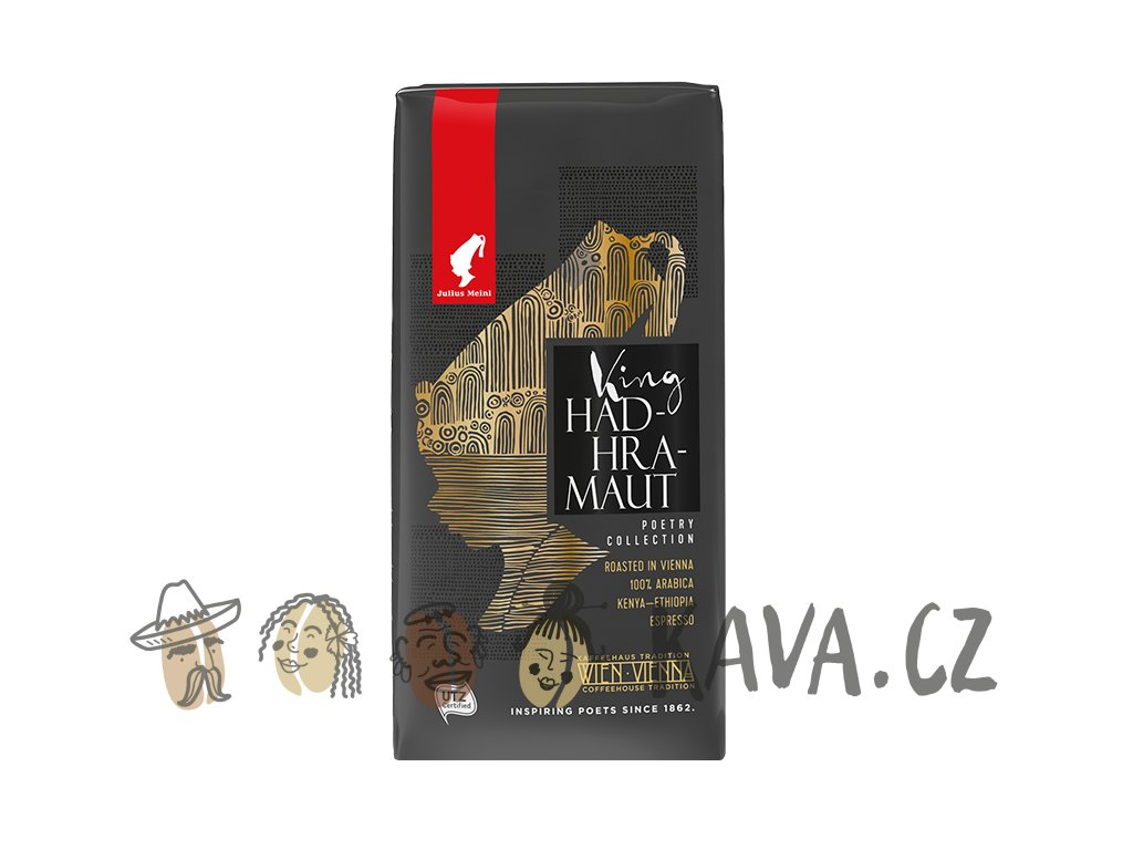 Julius Meinl King Hadhramaut UTZ Poetry Collection 250 g