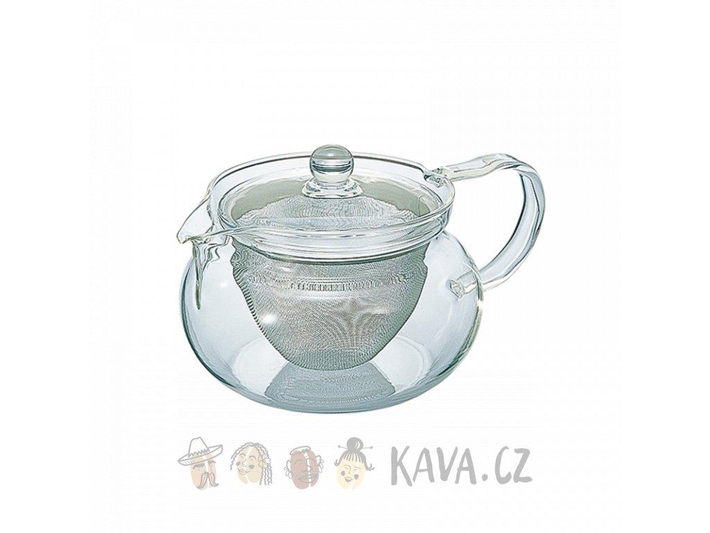 Hario Chacha Kyusu-Maru čajová konvice