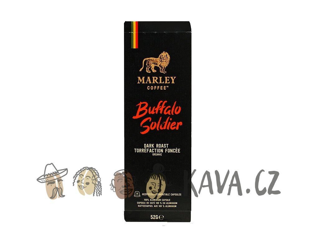 Kapsle Marley Coffee Buffalo Soldier pro Nespresso
