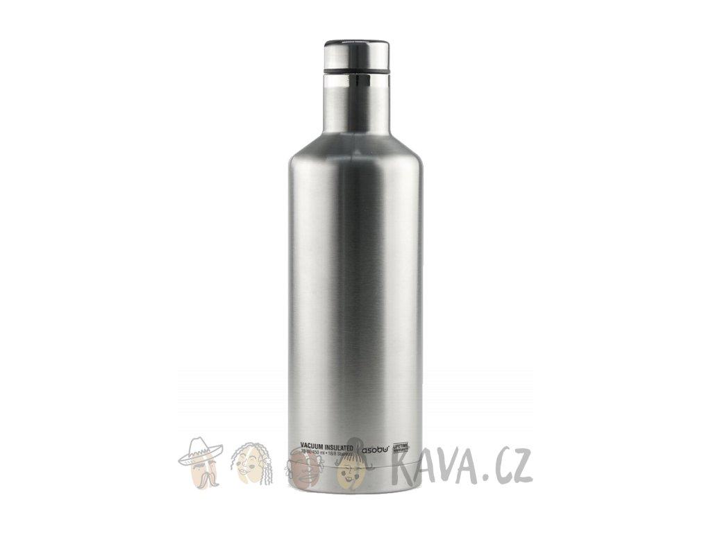asobu cestovni termoska tsquare sbv15 stribrna 450 ml