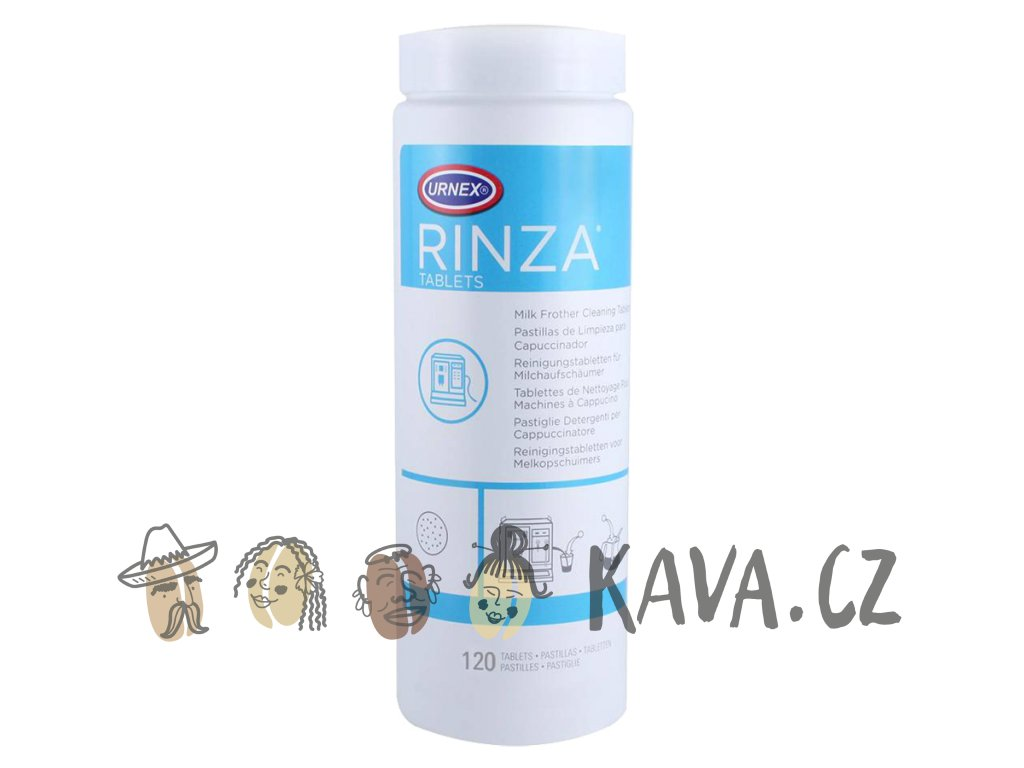 urnex rinza milk frother cleaning tablets