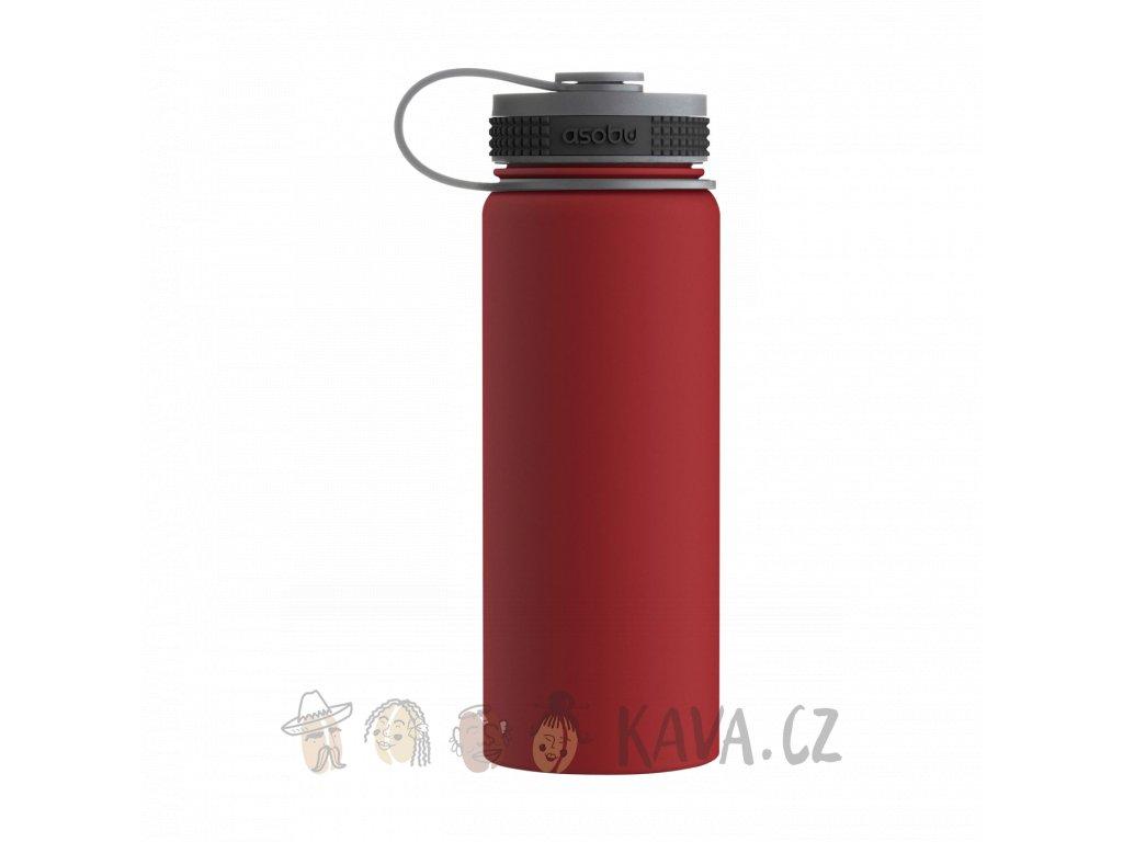 asobu cestovni termoska alpine tmf2 cervena 530 ml
