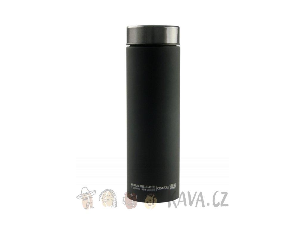 asobu cestovni termoska le baton lb17 cerna 500 ml