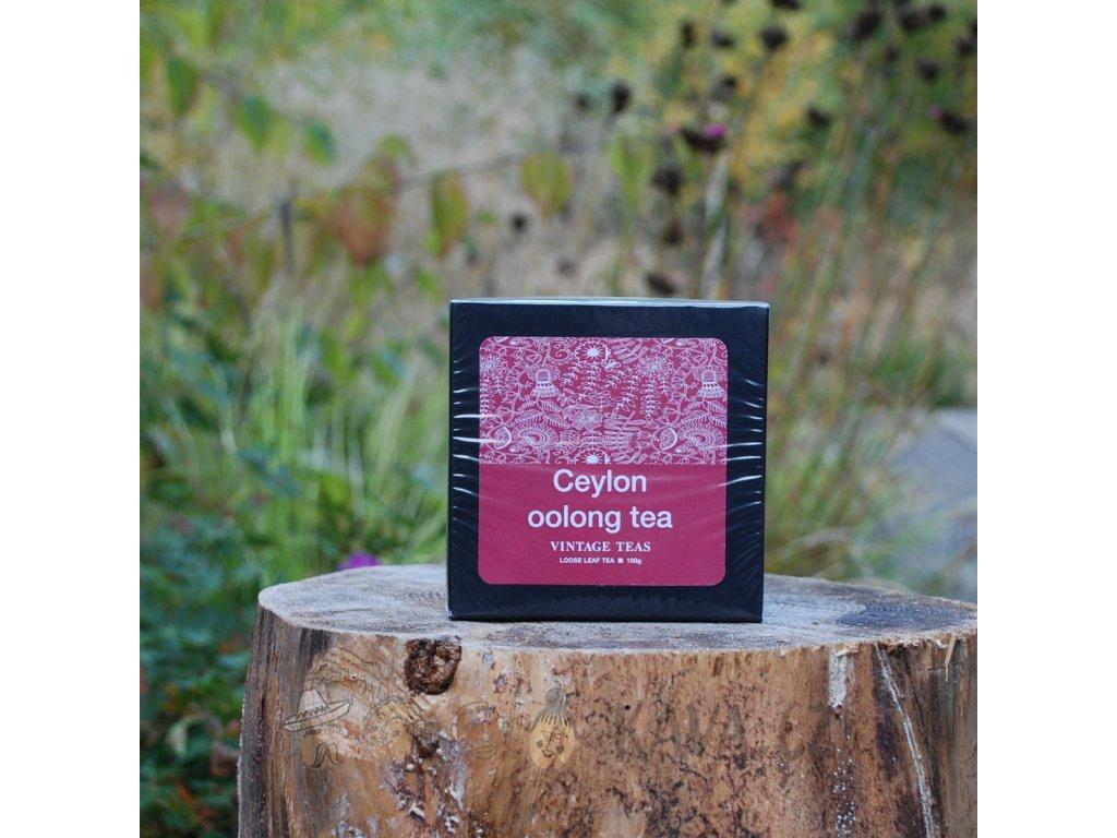 Vintage Teas Sypaný čaj Ceylon Oolong 100 g