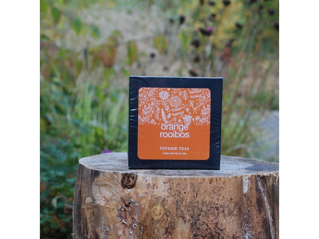 Vintage Teas Sypaný čaj Rooibos s pomerančem 100 g