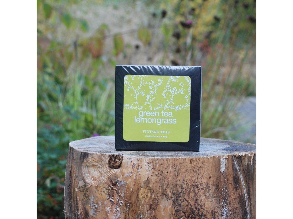 Vintage Teas Sypaný Zelený čaj s citronelou 100 g