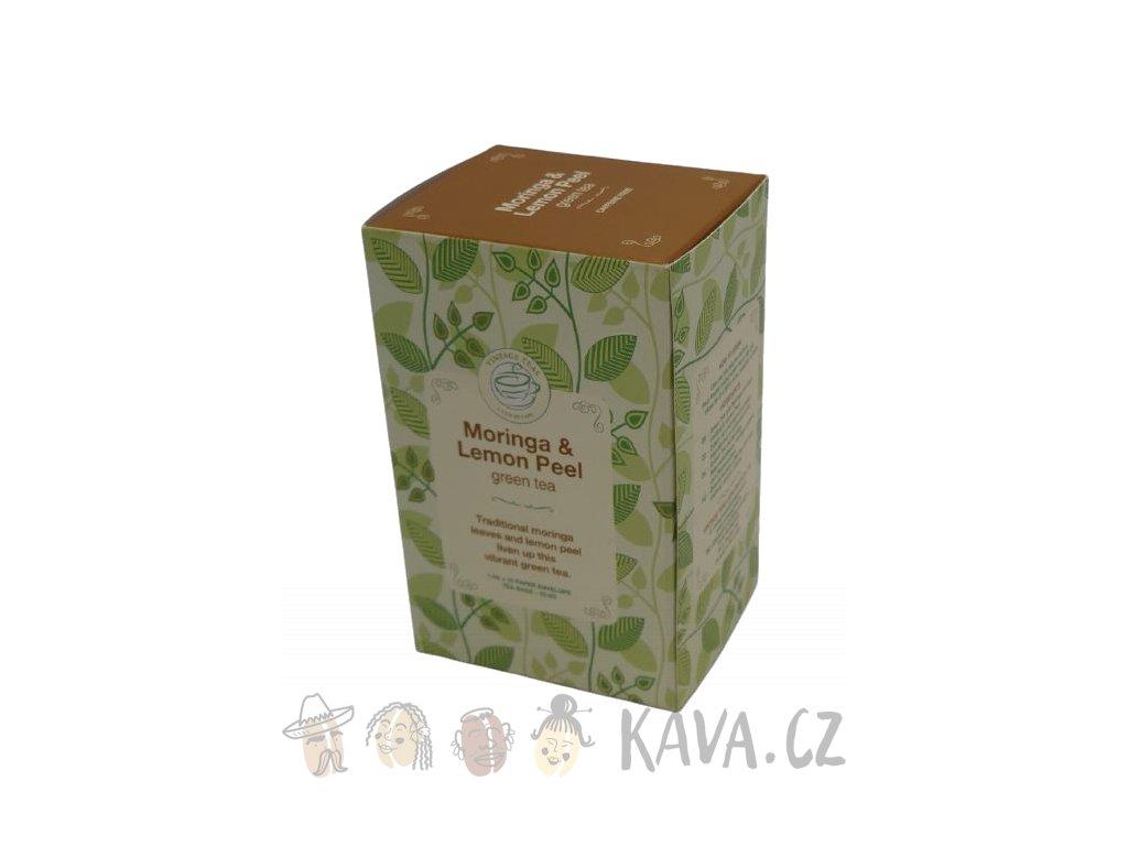 vintage teas ajurvedsky caj moringa s citronovou kurou