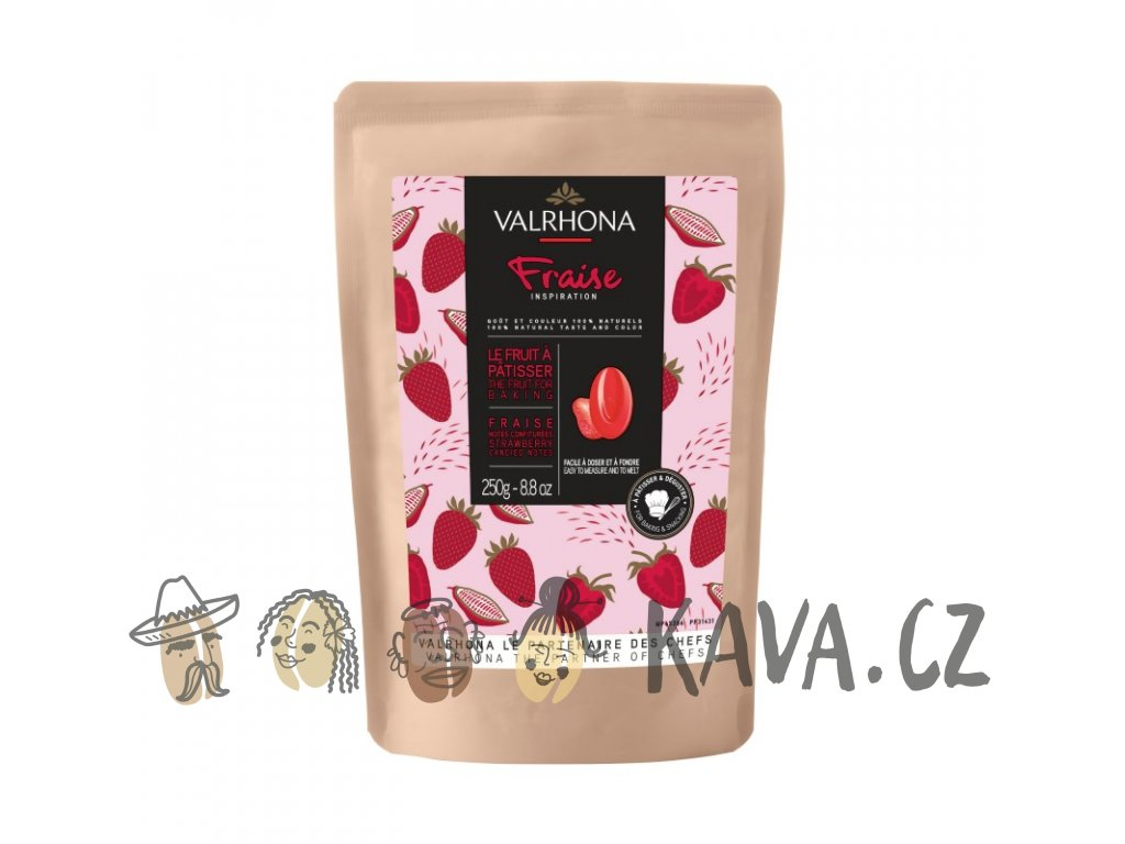valrhona inspiration strawberry 250 g