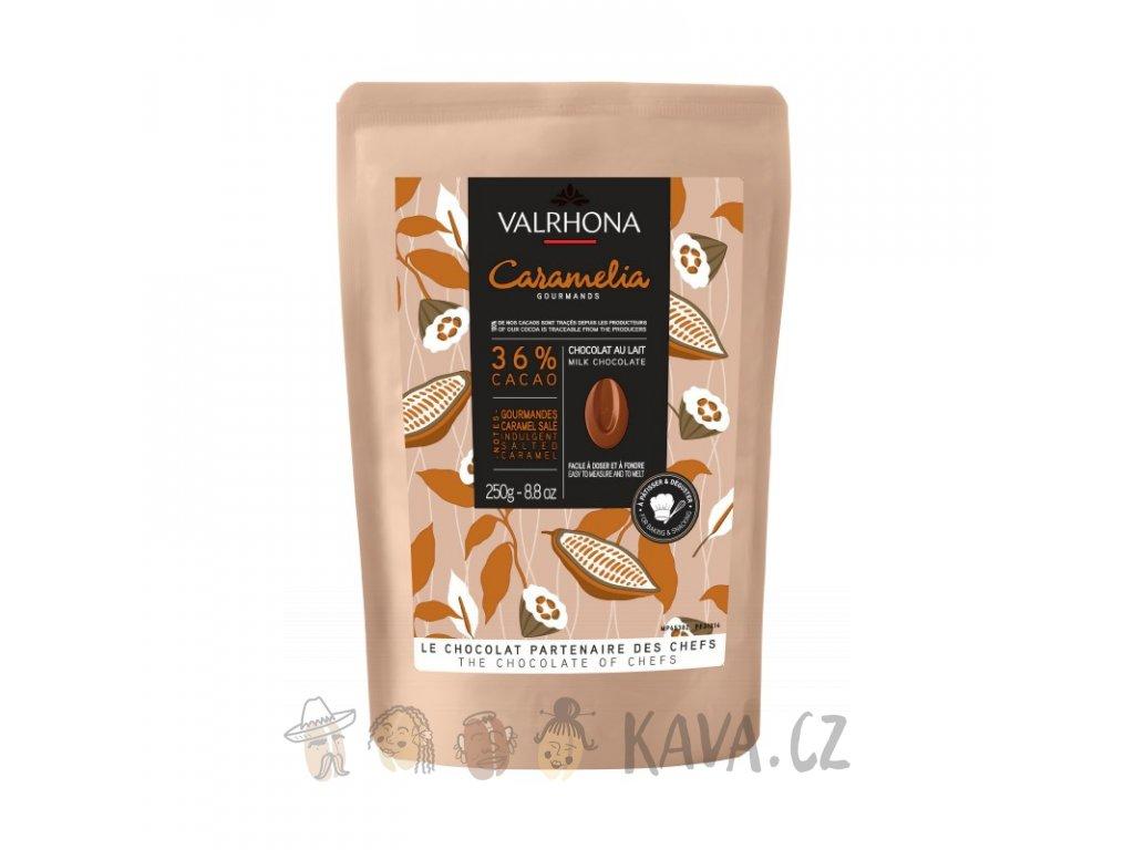 valrhona caramelia 36 mlecna 250 g