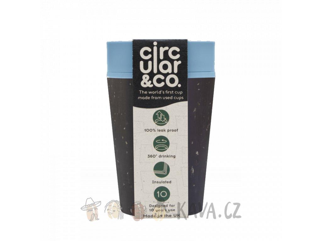 circular cup rcup black and blue 227 ml zelenadomacnost