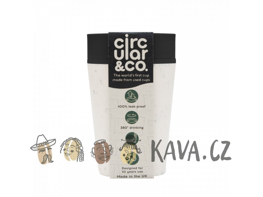 circular cup rcup cream and black 227 ml zelenadomacnost