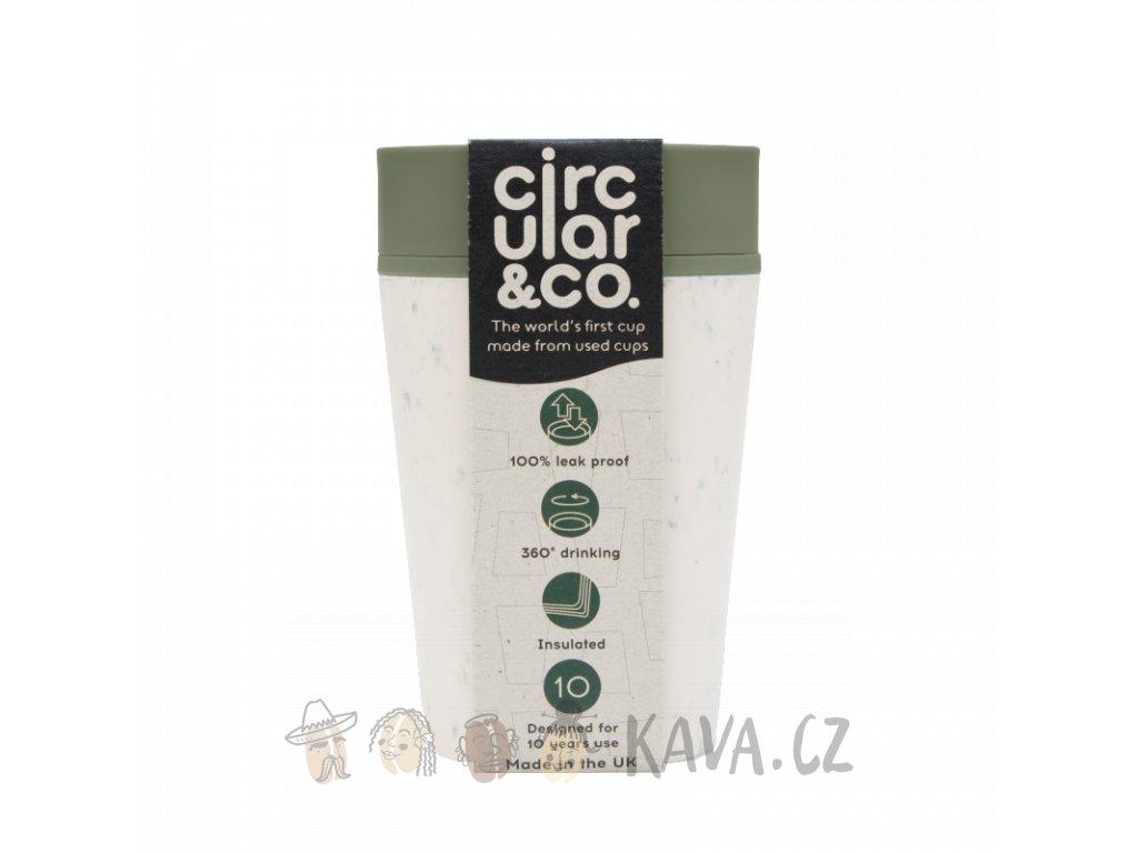 circular cup rcup cream and green 227 ml zelenadomacnost