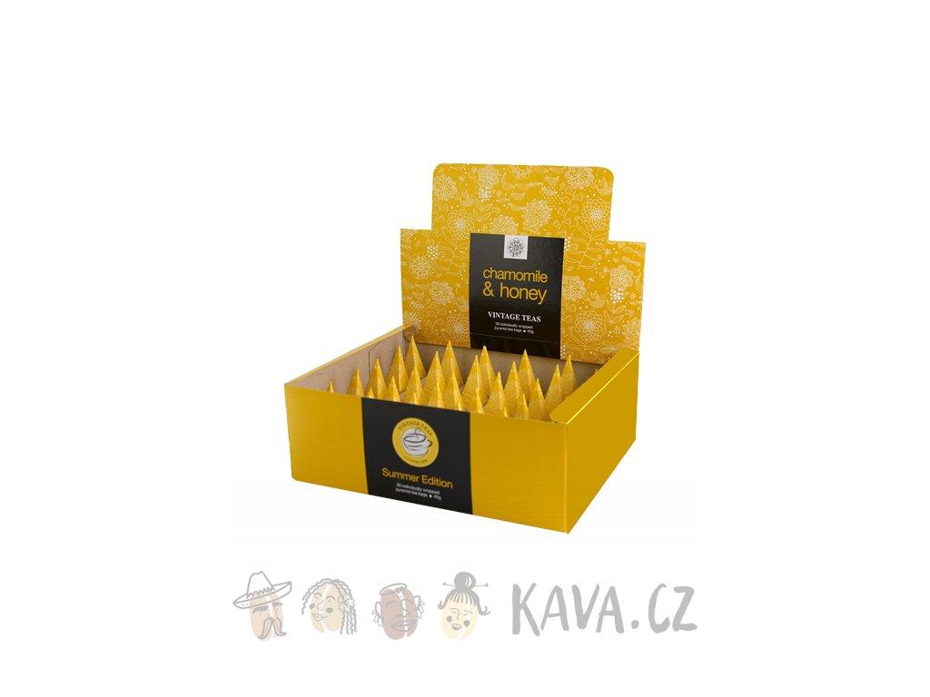 vintage teas camomile honey