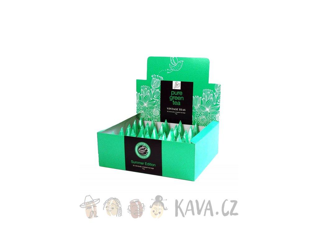 vintage teas pure green tea