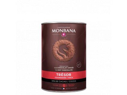 Monbana Horká čokoláda Trésor 1 kg