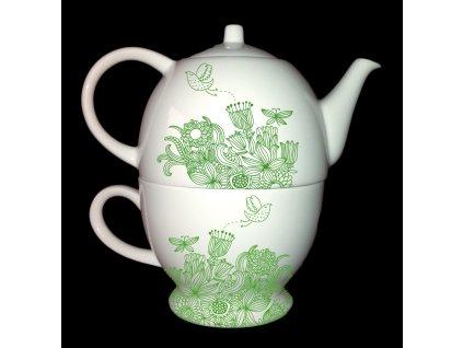 GreenTea Pot