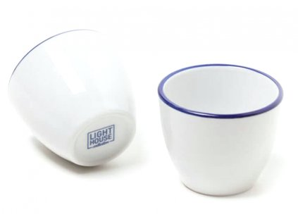 Lighthouse Porcelánový šálek na kávu 2x 80 ml