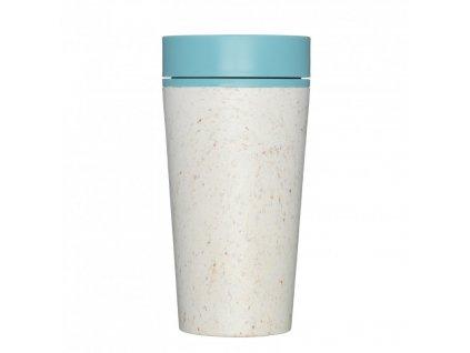 rCUP Kelímek Cream and Teal 340 ml