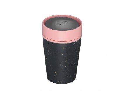 rCUP Kelímek Black and Pink 227 ml