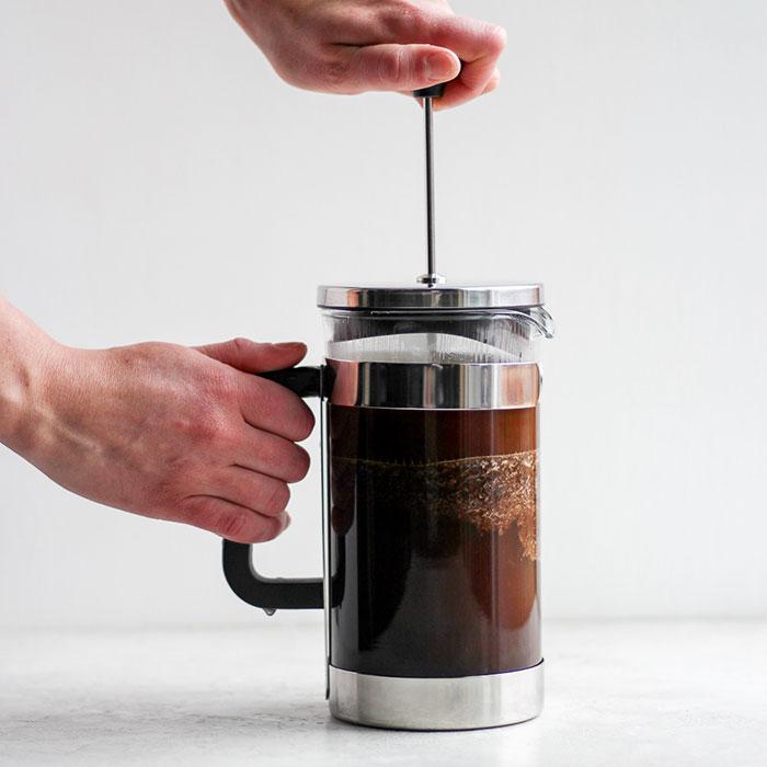 Jak udělat kávu ve frenchpressu