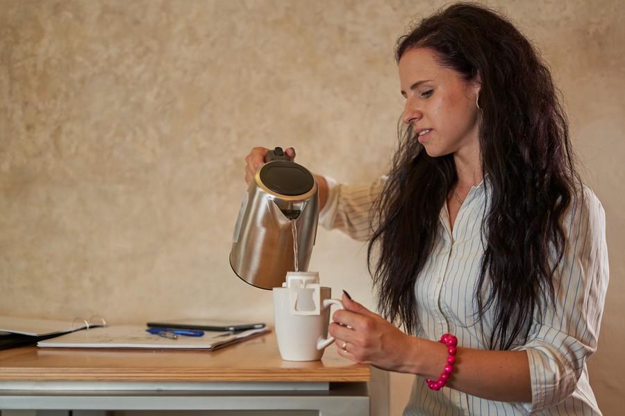 Překapávaná káva a její příprava doma