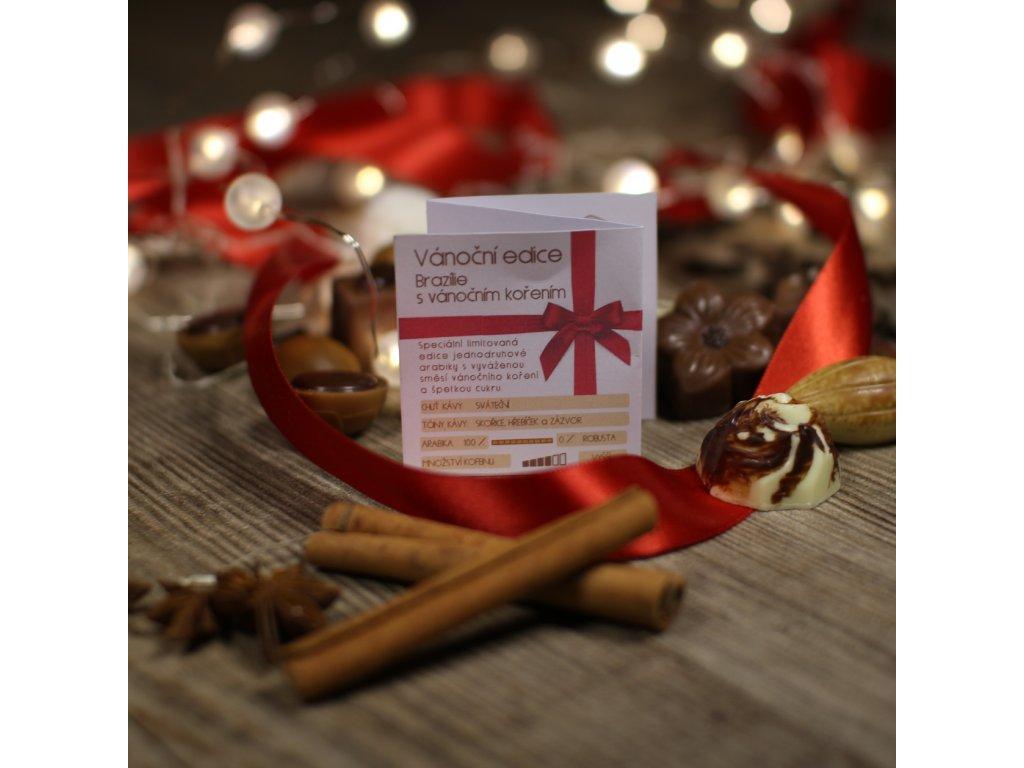 Limitovaná edice s vánočním kořením