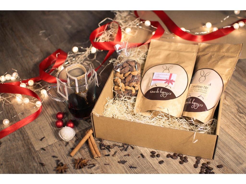 Vánoční balení - Sladké skořicové kešu a mandle