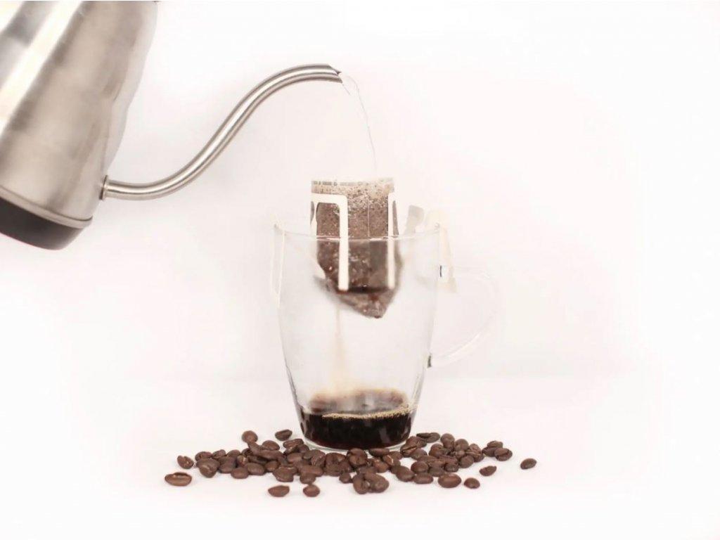 Filtrovaná káva - jedno-druhový balíček 30 filtrů na 6 měsíců (celkem 6 x 30 filtrů)
