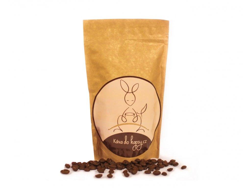 Zrnková káva - jedno-druhový balíček 250 g na 12 měsíců  (celkem 12 x 250 g)