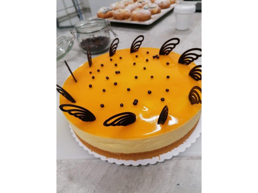 Mango - maracuja dort